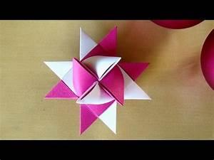 Anleitung Fröbelsterne Falten : fr belsterne anleitung weihnachtssterne basteln mit papier origami stern basteln f r ~ Orissabook.com Haus und Dekorationen