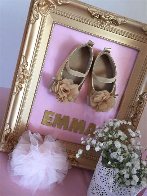 pink  gold baby shower baby shower party ideas gold