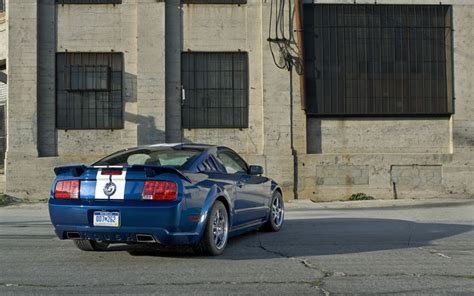 roush stage  mustang road test motor trend