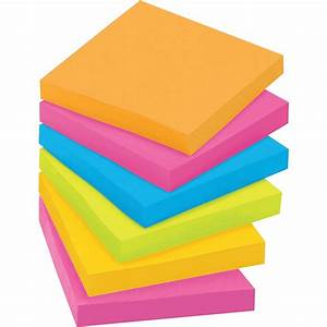 post it super sticky notes 3quot x 3quot rio de janeiro With kitchen cabinets lowes with reusable sticker pad