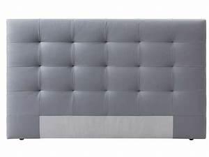 Soldes Tete De Lit : t te de lit 165 cm capiton 3 coloris gris vente de t te ~ Teatrodelosmanantiales.com Idées de Décoration