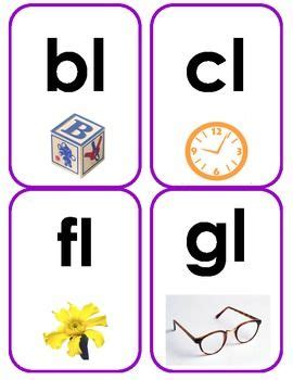 Letter Blend by Initial Blend Flash Cards Smarty Consonant