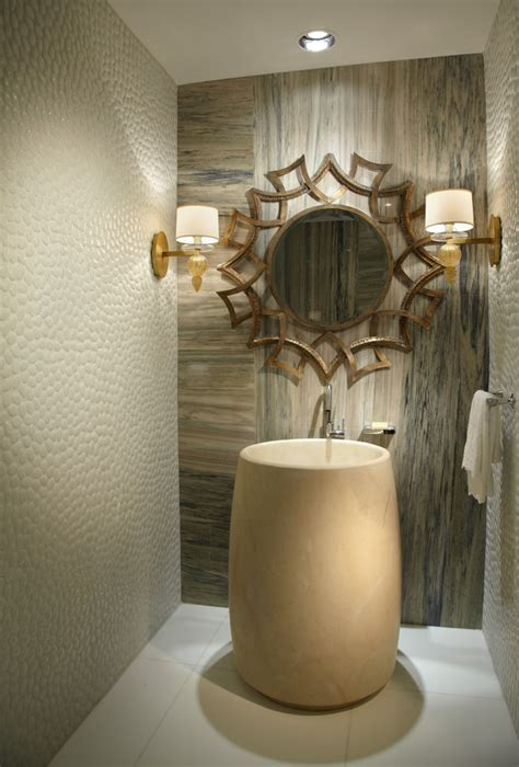 wall mirror powder room contemporary with mirror mirror textured wall czmcam org