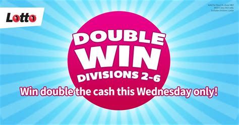 Get the latest uk lottery results straight after each draw. It's that time again - Wednesday Lotto double dividends ...