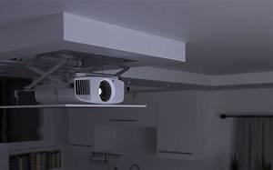 Videoprojecteur Salon : guide l image de votre home cinema discret et sans fil ~ Dode.kayakingforconservation.com Idées de Décoration