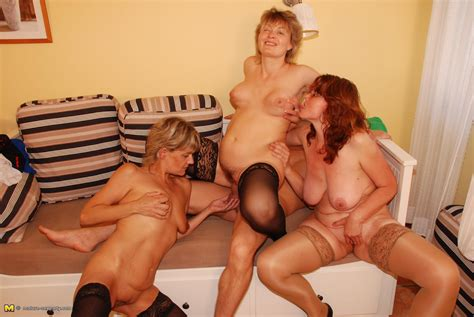 One Lucky Dude Doing Three Mature Sluts