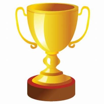 Trophy Icon Golden 3d Cup Vector