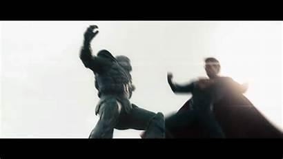 Superman Action Justice League Impressive Thor Punch