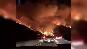 Terrifying footage shows California drivers commuting mid ...
