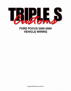 Ford Bantam 2002 Wiring Diagrams Service Manual Download  Schematics  Eeprom  Repair Info For