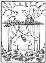 Coloring Pages Feast Tabernacles Bible Religiocando Sukkot Hebrew Torah Template Jewish Worksheets Disegni Ebraiche Feste Simchat Sukkoth sketch template