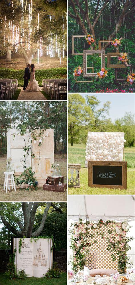 Top 20 Unique Backdrops For Wedding Ceremony Ideas
