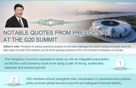 notable quotes  president xi   summit