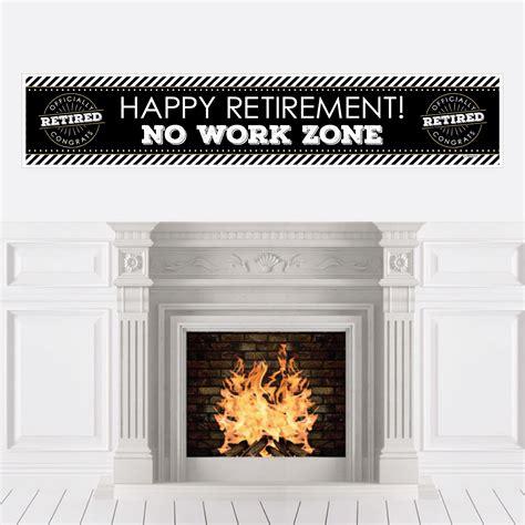Start retirement party planning like a pro today! Happy Retirement - Retirement Party Decorations Party Banner - Walmart.com - Walmart.com
