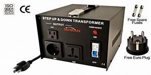 1000 Watt Two Way Voltage Converter Ac1000w