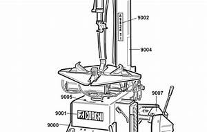 Coats Tire Machine Parts Diagram