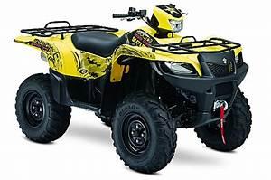First Look  2009 Suzuki King Quad 500  U0026 750 4x4 U0026 39 S