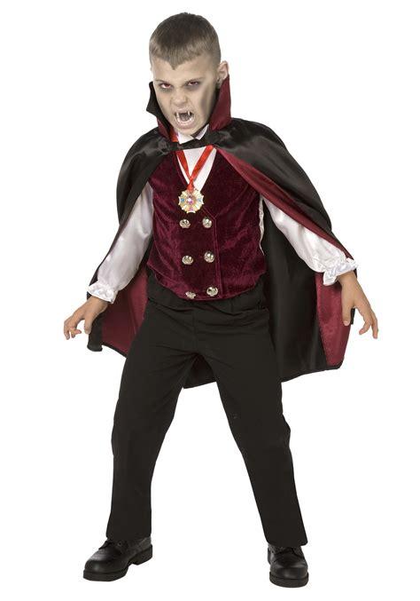 boy child deluxe vampire costume