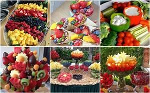 Party Buffet Ideen : tolles und gesundes party buffet ~ Markanthonyermac.com Haus und Dekorationen
