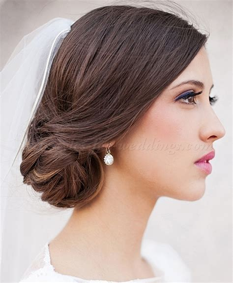 low bun wedding hairstyles   bridal chignon   Hairstyles