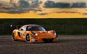 Lotus, Exige, Gt3, Race, Car, Track, Orange, Wallpapers, Hd