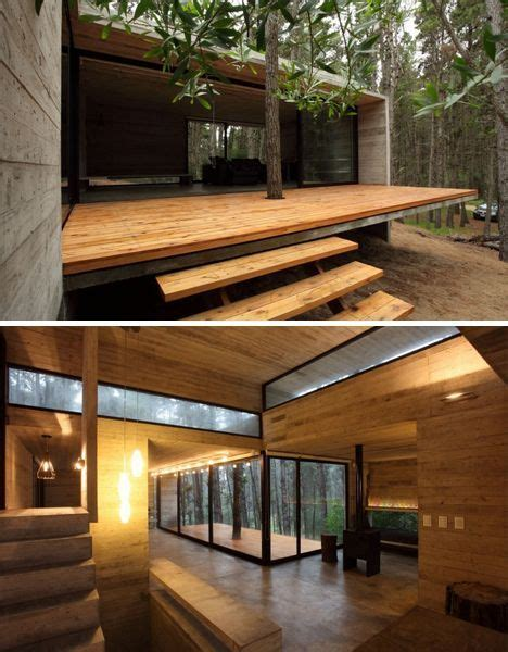 woods wood patio  modern  pinterest