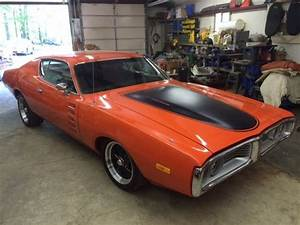 Dodge Charger 1972 Mopar Orange For Sale  Wh23h2a137741