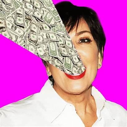 Jenner Kris Money Kardashian Dollar Fine Age