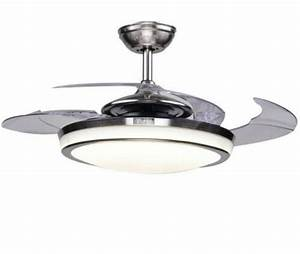 48 U0026quot  Retractable Ceiling Fans Led Light Chandeliers Frosted