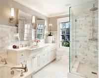 white marble bathroom 27 Exquisite Marble Bathroom Design Ideas