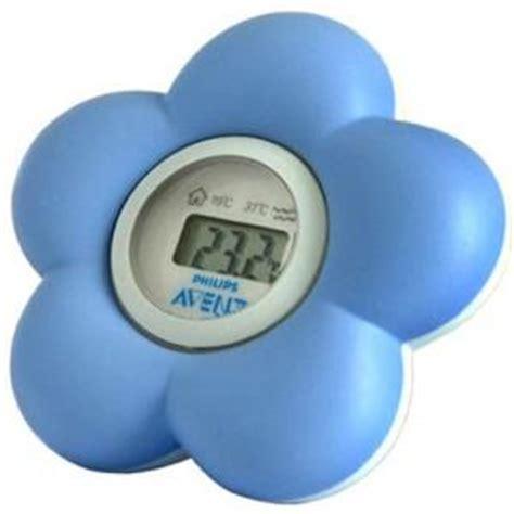 avent philips thermom 232 tre pour le bain et la chambre bleu