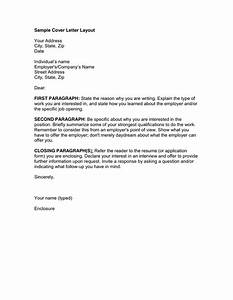 Cover letter layout in word and pdf formats for Cover letter layout