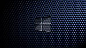 Glass windows on cube pattern wallpaper computer