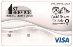 Choosing the right credit card is easier than ever. First Service VISA® Credit Card | First Service Federal ...