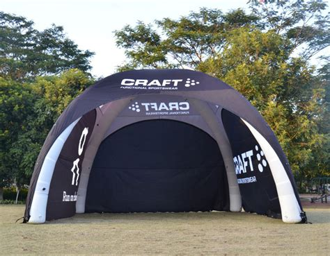 inflatable dome tents portable branding solution