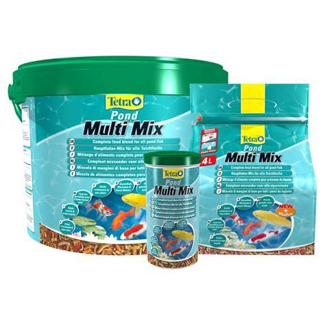 cuisines completes tetra pond multi mix fish food