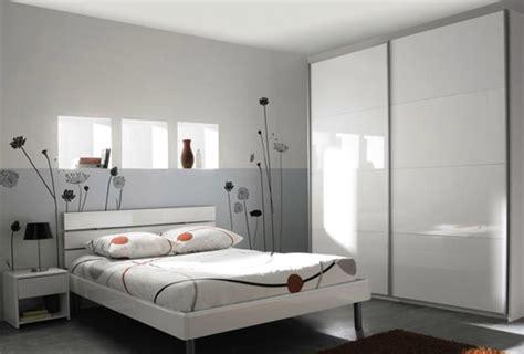 chambre couleur gris décoration chambre adulte couleur gris