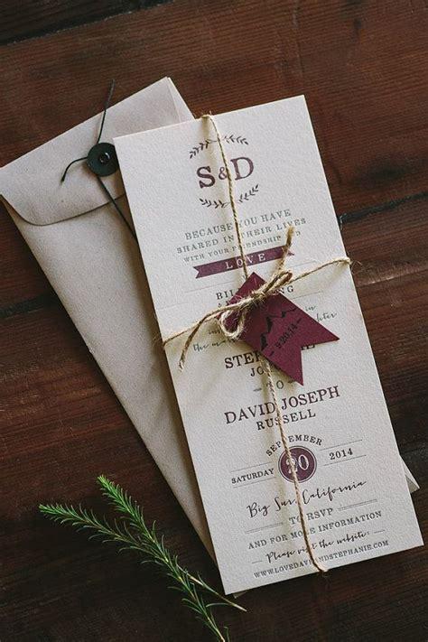unique inexpensive wedding invitations  etsy
