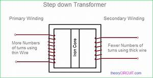 Step Down Transformer Diagram