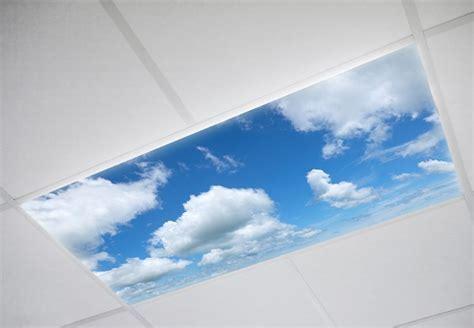 Cloud Kitchen Fluorescent Light Covers   Sky Ceiling Light