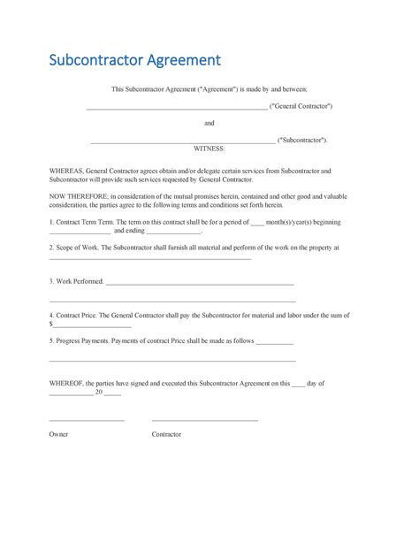 independent contractor agreement template klauuuudia