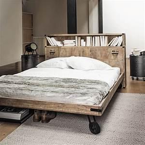 20 tetes de lit pour votre chambre cote maison for Chambre design avec sommier et matelas 120x200