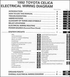 1994 Toyota Celica Wiring Diagram Original