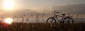 Pretty Bike in Sunset Facebook Cover