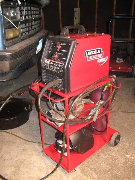 pin  diy welding plans  welder welding carts welding