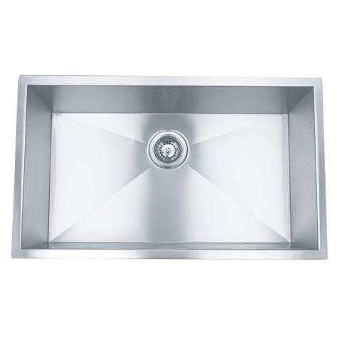 36 stainless steel sink 36 stainless steel zero radius undermount kitchen sink