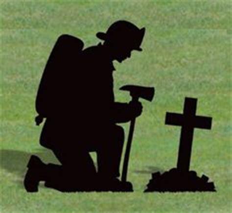 lawn yard shadow silhouette patriotic fireman ebay