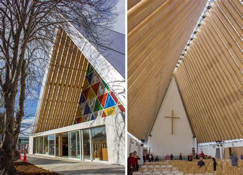 shigeru ban completes cardboard cathedral in
