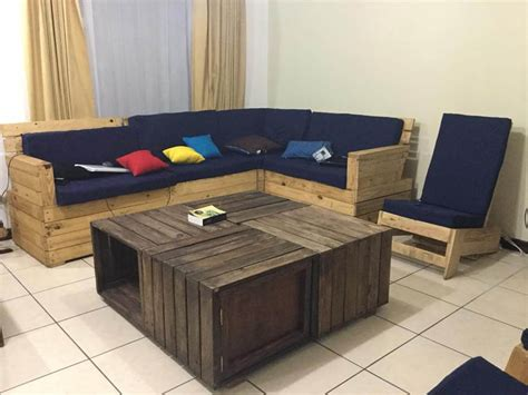 crate pallet coffee table pallet sofa  pallets