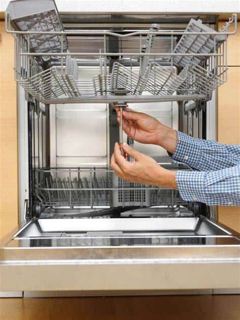 dishwasher washes poorly